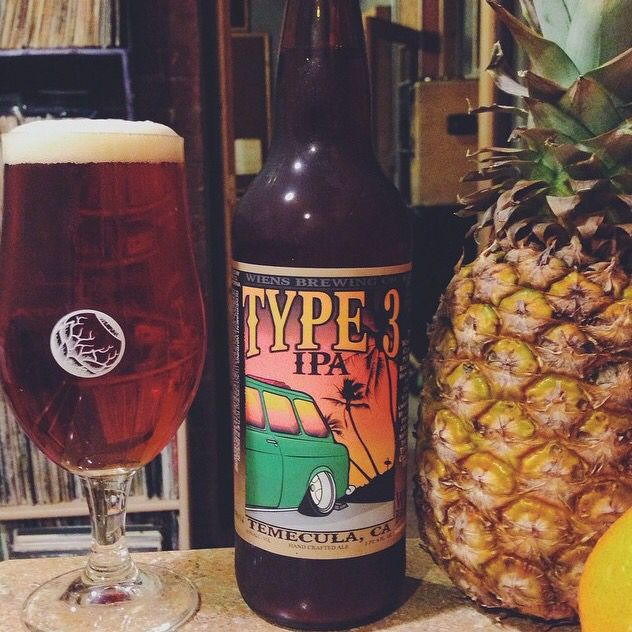 """Wiens Brewing """"Type 3 IPA"""" this is a American IPA with mild bitterness and strong citrus notes. If you don't like West Coast IPAs but you want to, you'll like this beer."""