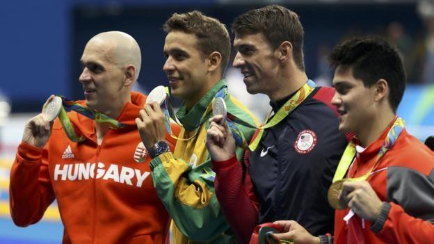 Rio Olympics 2016: Joseph Schooling beats Michael Phelps in 100m butterfly