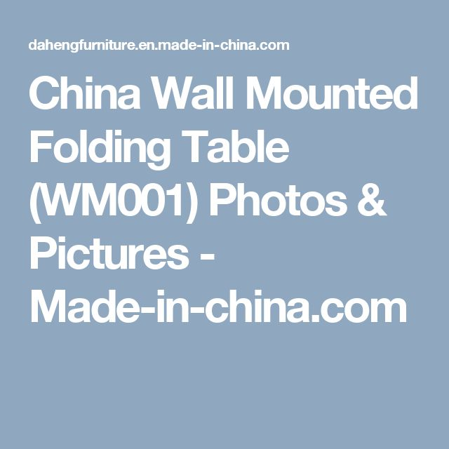 The 25 Best Ideas About Wall Mounted Folding Table On