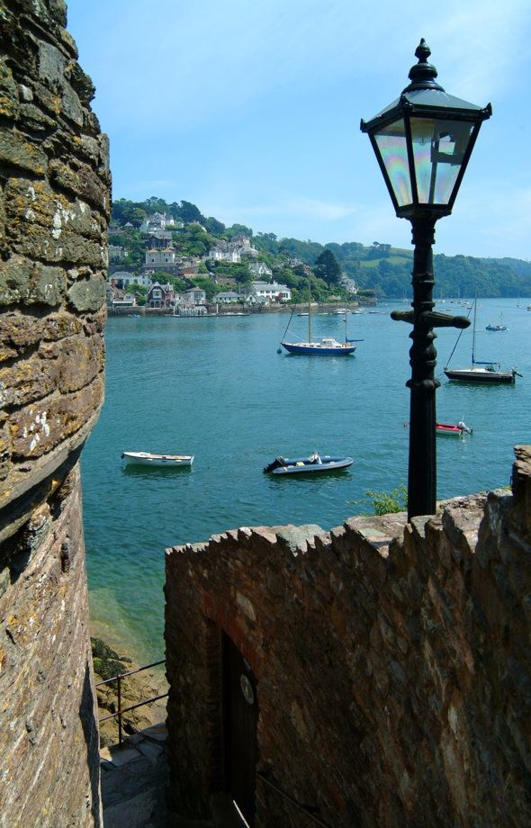 Harbour view, Dartmouth, South Devon, England.