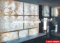 decorative backlit polyester resin wall panel / China Sun Sheets & PC Embossed Sheets for sale