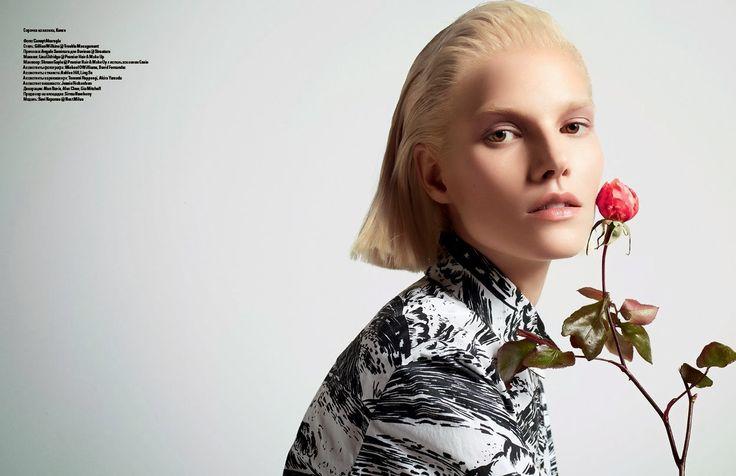 Suvi by Cuneyt Akeroglu for Vogue Ukraine March 2014