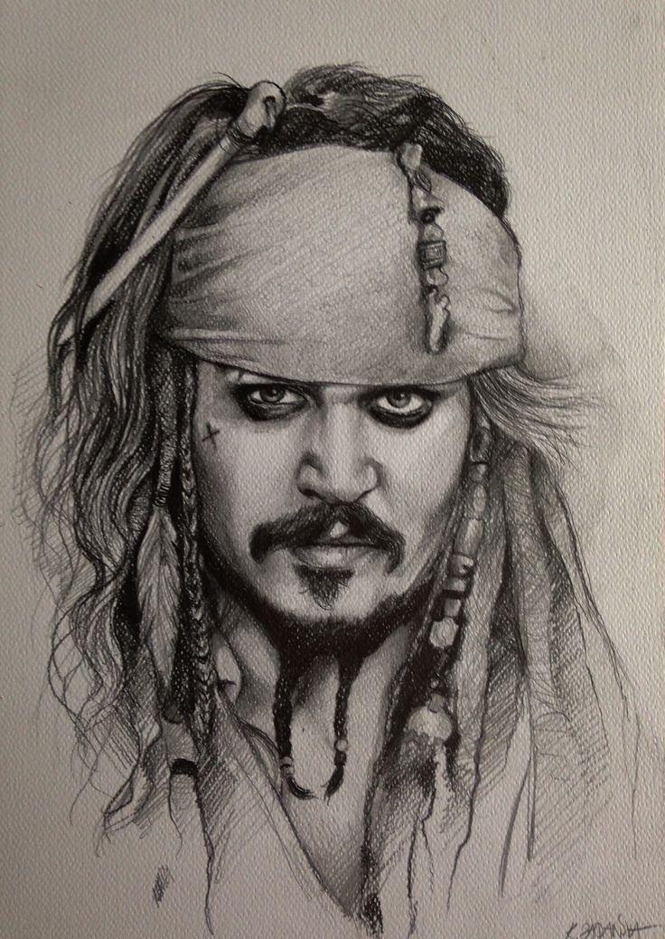 Piraci z Karaibów Portret Jack'a Sparrow'a Pirates of the Caribbean Drawing Captain Jack Sparrow Portrait (Johnny Depp) https://www.youtube.com/watch?v=U8Al3FO-jyc