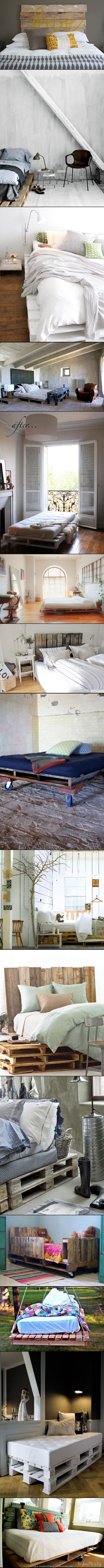DIY DECOR AND CRAFTS: Home Decor Ideas - TOP 15 PALLET BED HACKS