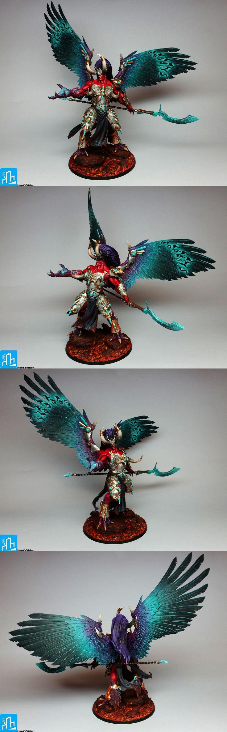 Magnus Rudý, Daemon Primarch z Tzeentch