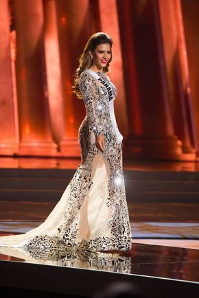 Top 5 Evening Gowns at Miss Universe 2015 | model | Pinterest ...