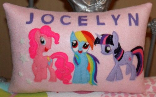 My little pony Handmade in felt