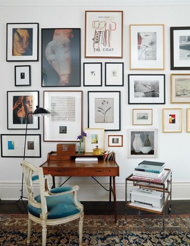 belle maison: Get the Look: Vintage Modern