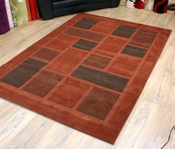 Modern Style Rugs Visiona 4304 Terracotta 160cm X 230cm 39 80 Http
