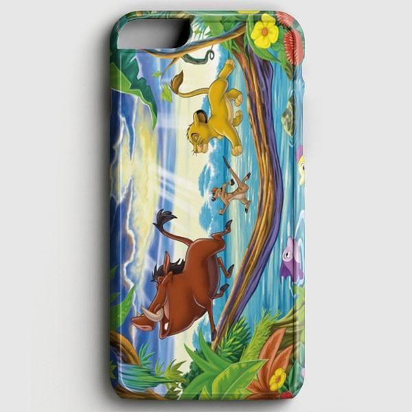 Timon Pumbaa And Simba iPhone 6/6S Case
