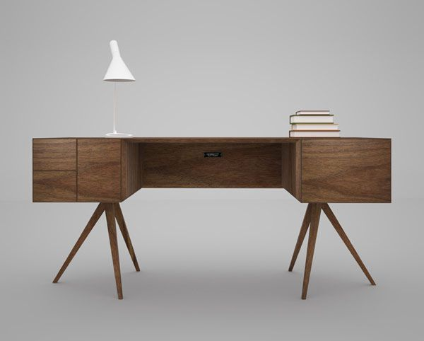 The first design cue that caught my attention with the incunabular collection by Invisible City is the leg configuration. The stance or perch of these...