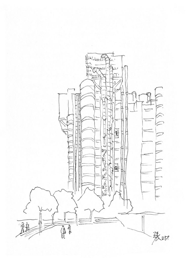 Lloyd's Building designed by Richard Rogers @ London, UK ...