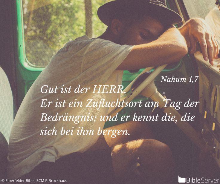 Nachzulesen auf BibleServer   Nahum 1,7