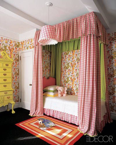 Children's Room Ideas—Children's Room Decorating - ELLE DECOR @dailybasics ♥♥♥