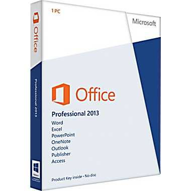 Microsoft Office 2013 Professional 32/64-bit - $519.00 Manage life and work more efficiently with access to your documents online.  Office Home & Business 2013 is designed to help you create and communicate faster with new, time-saving features and a clean, modern look. Plus, you can save your documents in the cloud on SkyDrive and access them virtually anywhere.