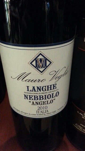Mauro Veglio Langhe Nebbiolo 2010 Smooth and soft with gentle tannins, red cherries, slighty unripe green fruit is obvious on the finish.
