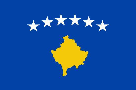 Bandera de KosovoPaísKosovoCapitalPristinaPoblación1.815.606 (2012)Área total10.887 km2Declarada17. 2. 2008Punto más altoDjeravica (2.656 m)PIB$ 7.506 (FMI, 2012)Monedaeuro (EUR)