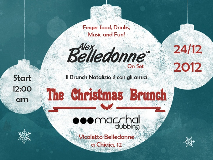 The Christmas Brunch!