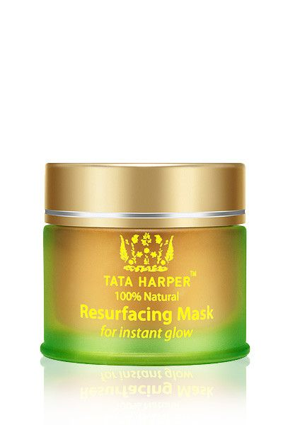 Tata Harper Resurfacing Mask Good for: All Skin Types, Not for Hypersensitive Totally Clean: No Synthetic Ingredients, No Harmful Chemicals, No Fillers, Non GMO, No Synthetic Fragrance Super Good: Pom
