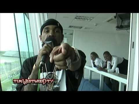 Westwood - 50 Cent  G-Unit UK tour 2004