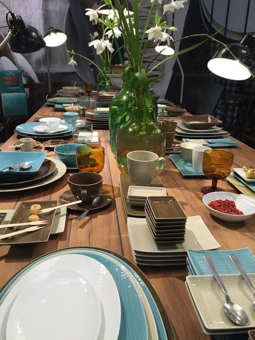 Contemporary dishware for a contemporary tabletop