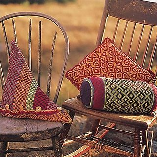 Origat Pillows by Sandy Cushman on Ravelry