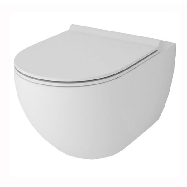 Sanitaryware and basins are not necessarily the items that you choose to catch the eye. That is why the simple, unobtrusive lines of the Giro collection are valued so highly by our designers whenever they create a contemporary bathroom. You will find something here to quietly complement the more exciting elements of your new bathroom. Toilet Seat sold separately.