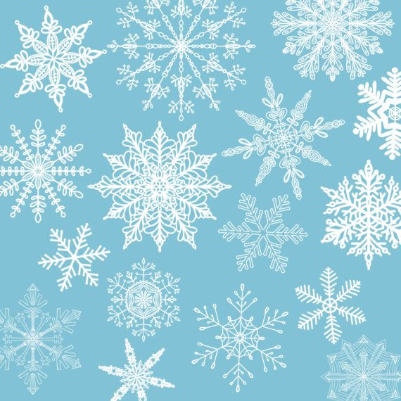 free printable borders and backgrounds snowflake winter
