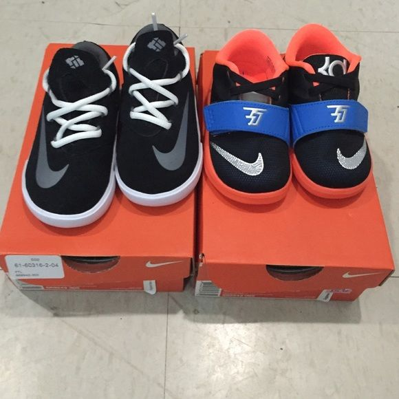 KD sneaker bundle Brand new infant sneakers, size (5C) PRICE IS FIRM! Nike Shoes Sneakers