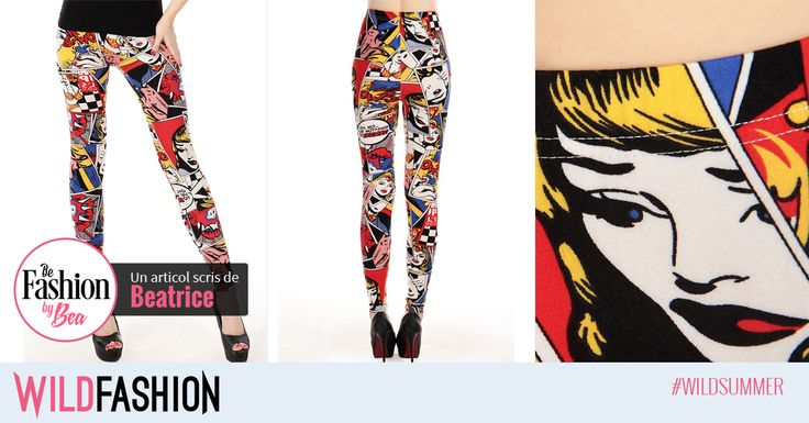 Ai decis sa fii ultimul erou - Super-Fashionista? Atunci acesti colanti sunt perfecti pentru tine!