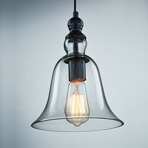 162 best ceiling light shades decor images on pinterest ceiling ecopower 1 light vintage hanging big bell glass shade ceiling lamp pendent fixture visit the image link more details mozeypictures Choice Image
