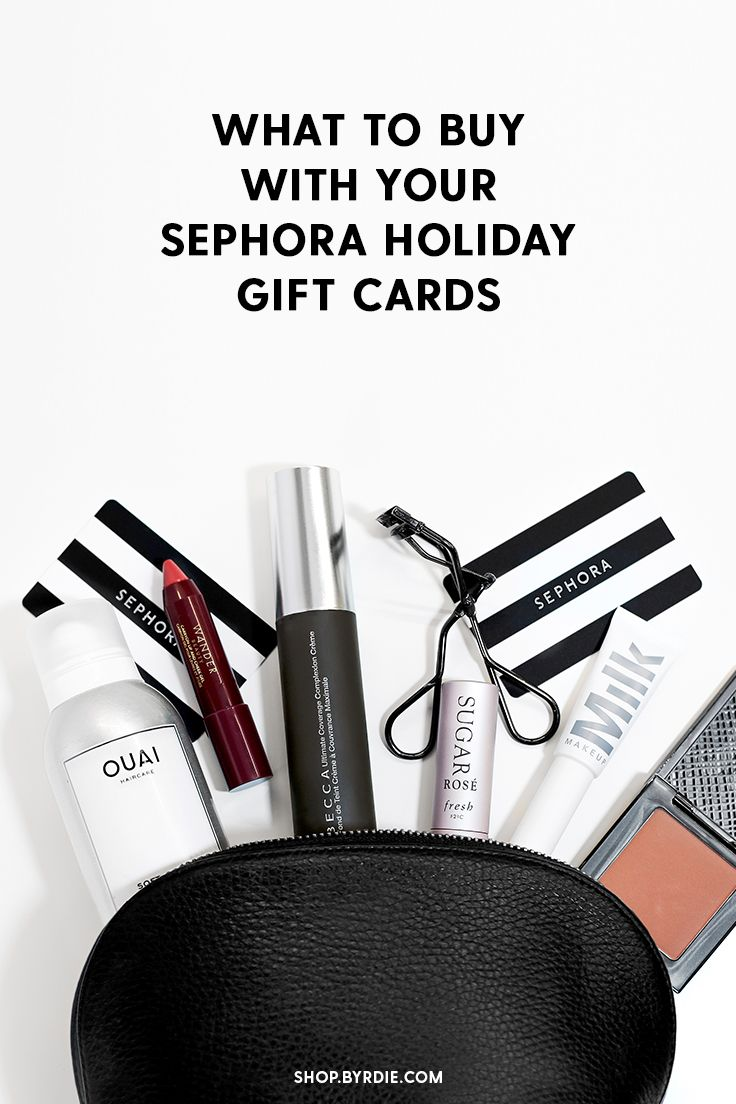 Move over, diamonds. Sephora gift cards are officially a girl's best friend! We've rounded up the best beauty products to buy on your next shopping spree.