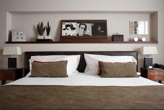 16 best w a l l s images on pinterest arquitetura brick for Retro bedroom ideas