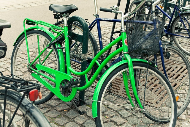 Bicycles in Helsinki