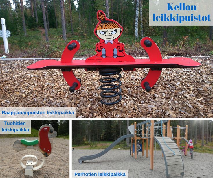 Otetaan hiekkalelut mukaan!: Kellon leikkipuistot