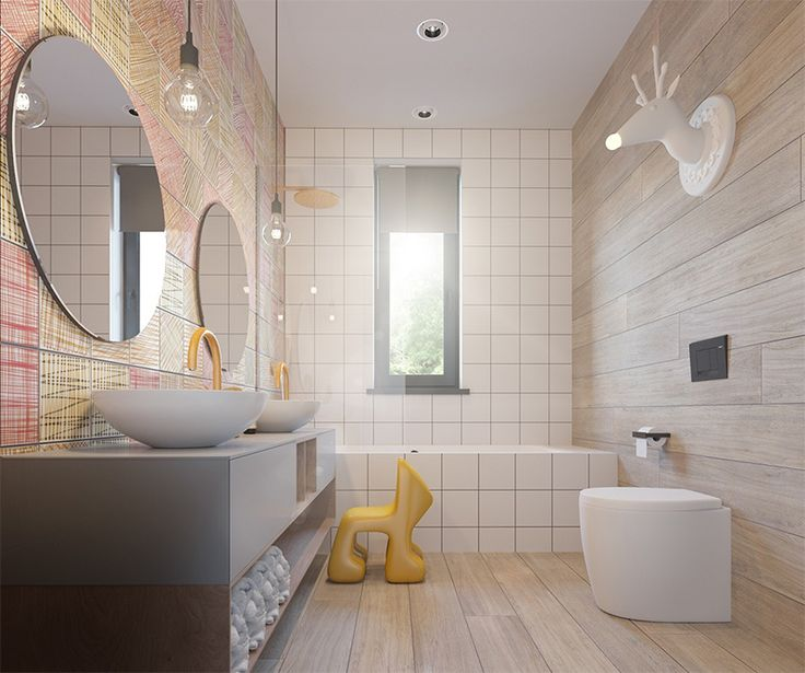 63 best Salle de bain enfants images on Pinterest Bathrooms
