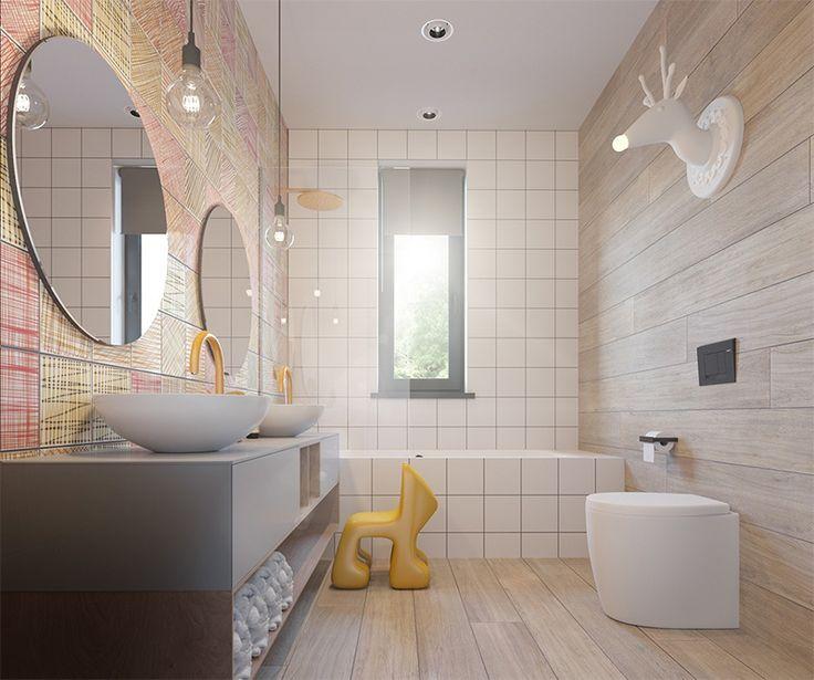 salle bain pour enfant