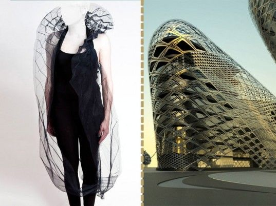 fashion inspired by architecture to raise money for the