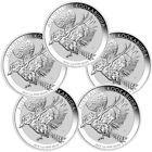 ✯✰ Lot of 5 - 2018-P Australia 1 oz Silver Kookaburra $1 Coins BU PRESALE... http://ebay.to/2gfuFs2