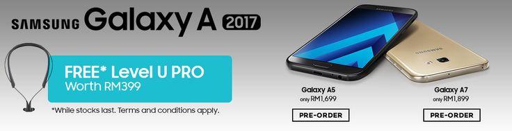 Samsung Malaysia Buka Pre Order untuk Galaxy A Series 2017, Harganya?
