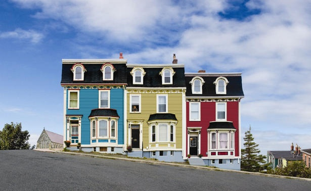 31 Best Images About Bright Colored Houses On Pinterest
