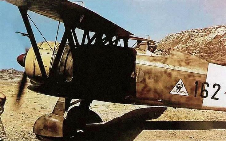CR-42 | Fiat CR.42, Aegean, 1940