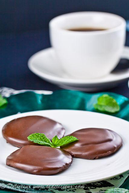 Mint Slice biscuits