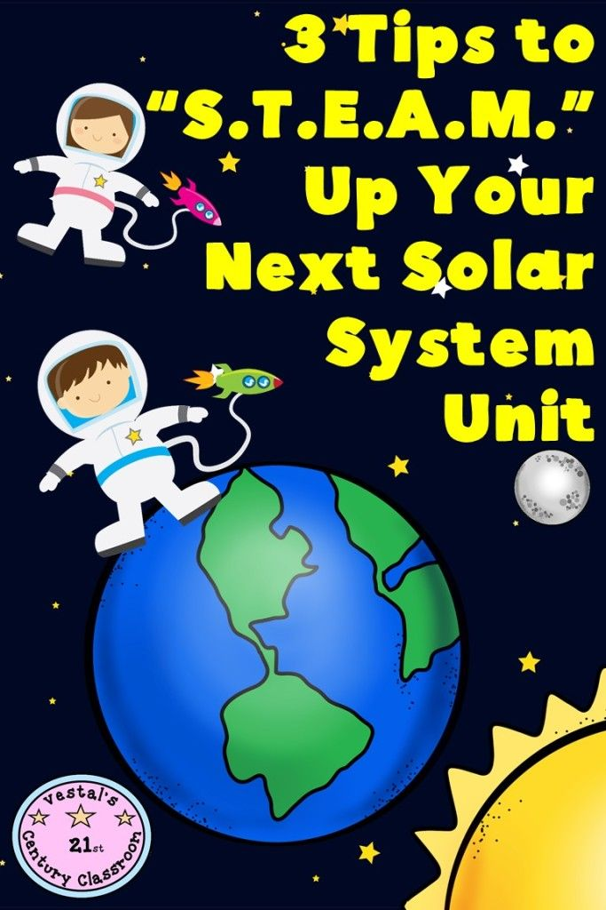 """3 Tips to """"S.T.E.A.M."""" up Your Next Solar System Unit - Minds in Bloom"""
