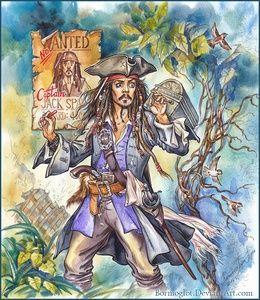Фан-арт, картинки, рисунки по фэндому «Пираты Карибского моря»
