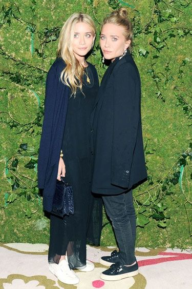 Mary-Kate and Ashley Olsen at the Superga Opening www.superga.co.uk #fashion #superga #fashion #style #blogger #sneakers #amazing