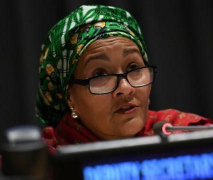 Crime: Minister of Environment Amina Mohammed indicted in $300m timber scandal    Former Minister of Environmentnow UN Deputy Secretary-General Amina Mohammed has beenaccused of grantingillegal permits to Chinese firms to import endangered Nigerian timber when she was in office. Mohammed served as Nigeria's Minister of Environment from November 2015 to February this year.  According to AFP investigations byEnvironmental Investigation Agency (EIA) a Washington-based environmental campaigning…