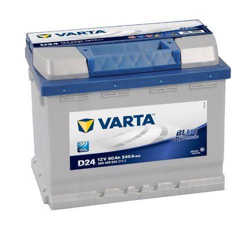 Varta D24 60 Ah Batterie de Voiture 560 408 054: Vous voulez plus de puissance mais vous avez des dimensions spécifiques? Pourquoi ne pas…