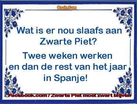 Reddingsacties voor Zwarte Piet op sociale media (© Facebook/Zwarte Piet moet blijven)