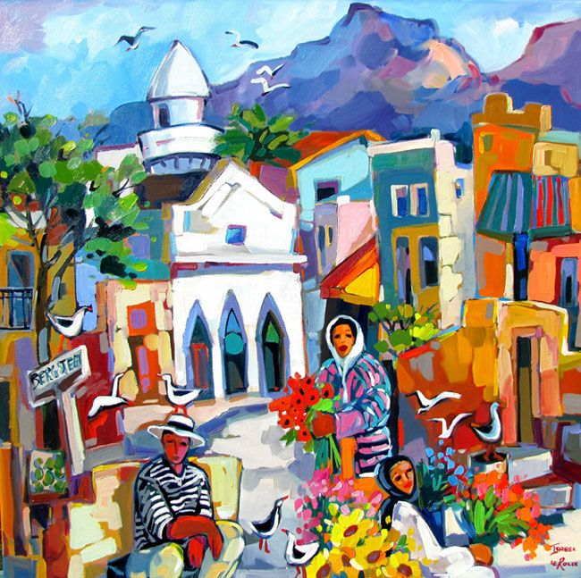 Isabel le Roux - South African Artist